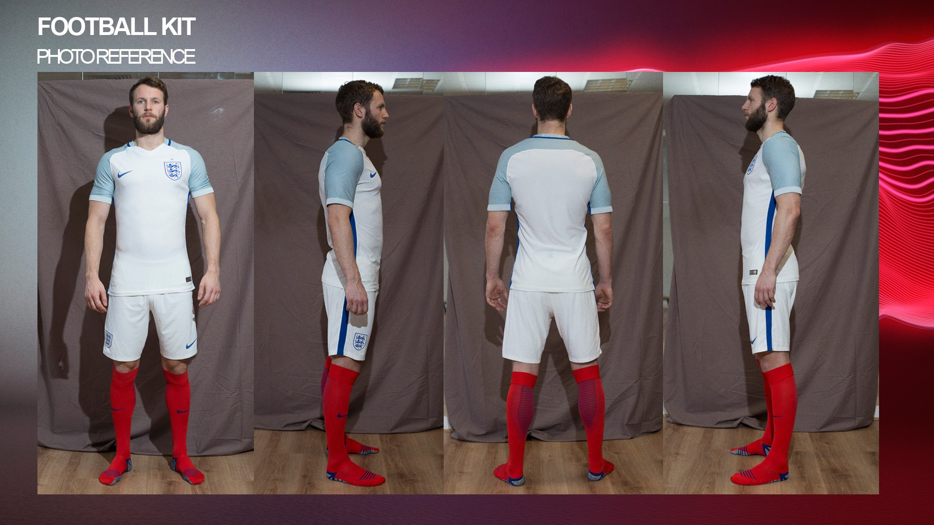 nike england football kit 2016 photo reference