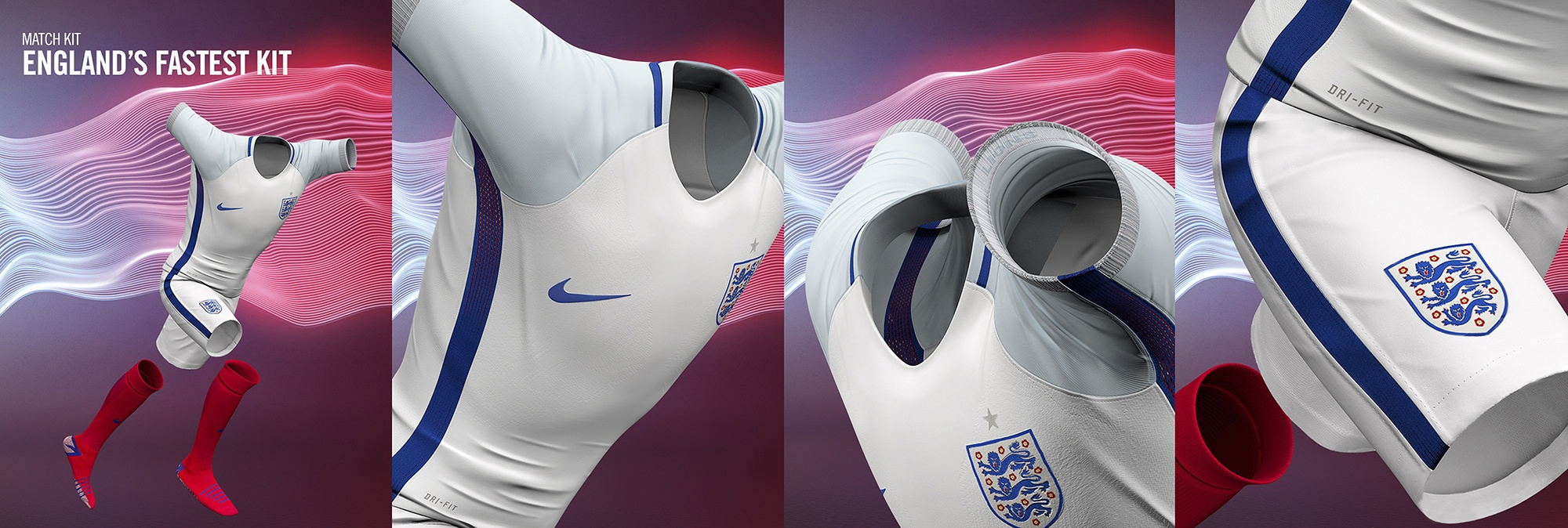 CGI nike england football kit 2016