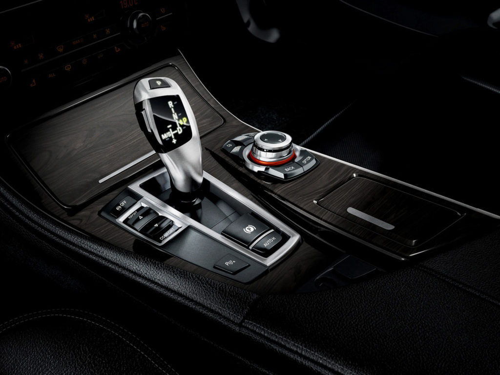 cgi illustration of a close up view of a bmw gear stick
