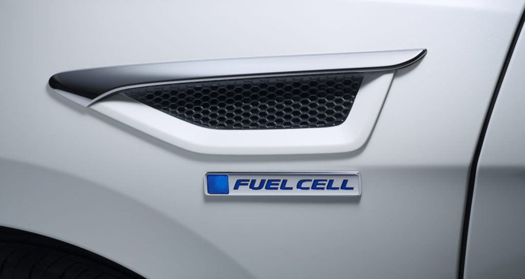 Fuel Cell of a Honda Clarity car