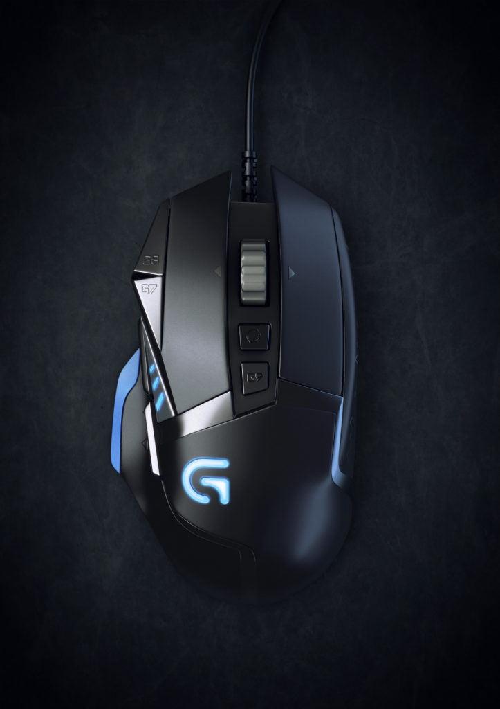 Logitech G502 computer mouse