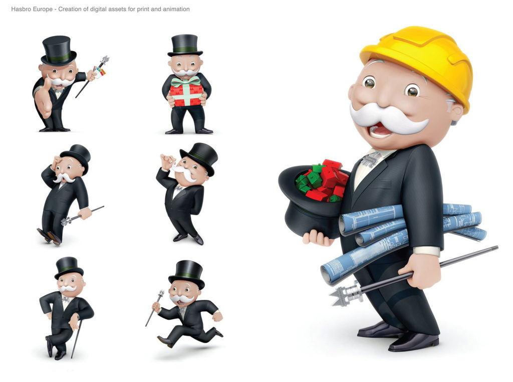 cgi Mr Monopoly