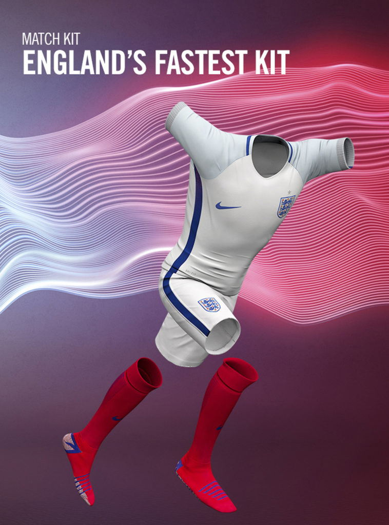 cgi model view of a nike england football kit 2016