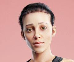 cgi creative artwork girl portrait boom cgi london