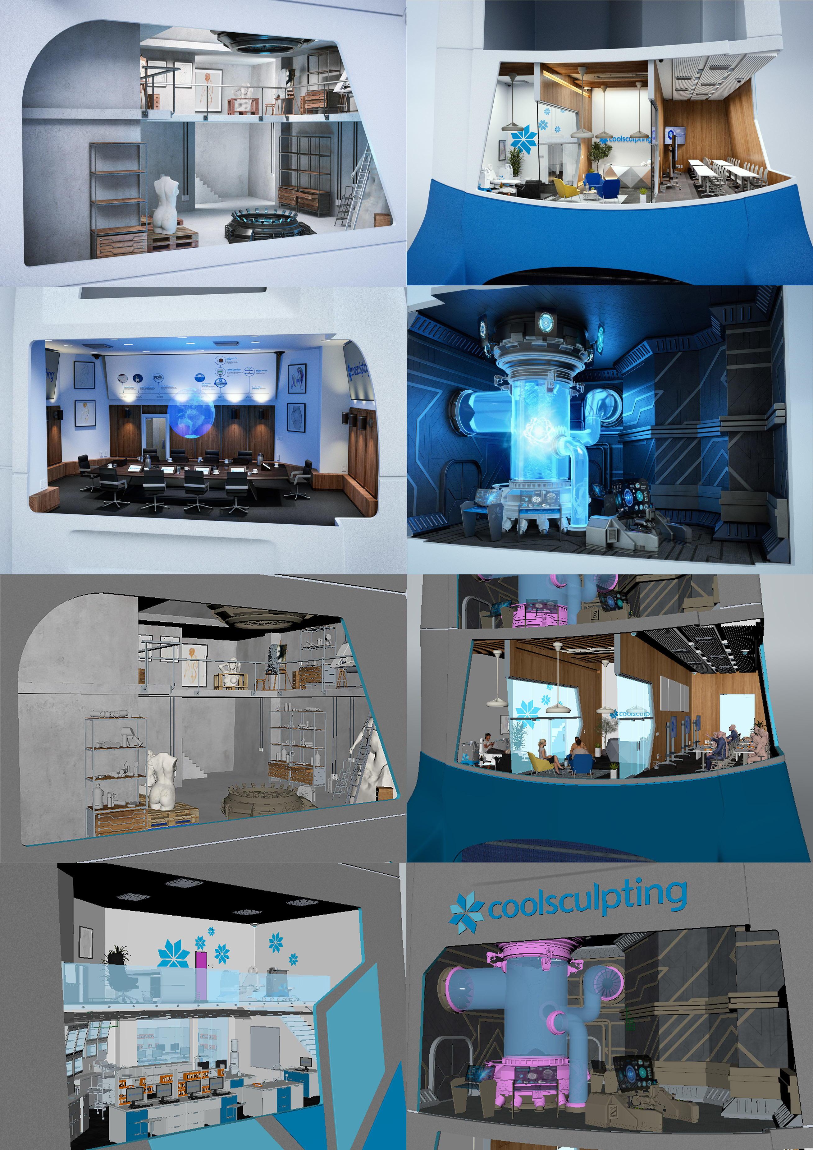 3D room concepts